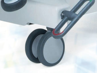Central locking casters ∅ 10 cm