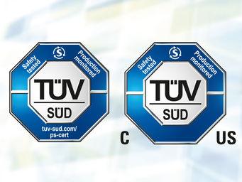 TÜV certified (tuv-sued.com/ps-cert)