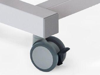 Rollen ∅ 10 cm mit Einzelarretierung und Richtungsfeststellung