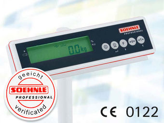 Integrated scale, calibrated and certified calibrated