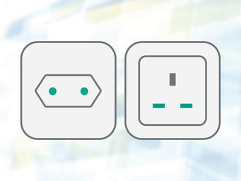 CH-, GB-power plug - other power plug on request