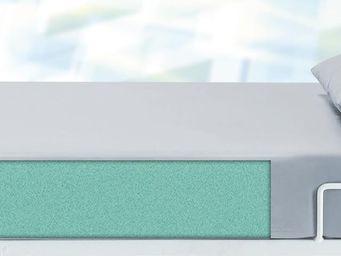 Mattress (foam) with PU-cover in grey