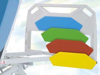Sonderfarbe Fußstützen- und Kopfstützeneinlage