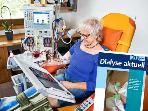 Home dialysis chair