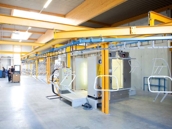 THE POWDER COATING PLANT