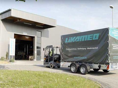 Die LiKAMED Pulverbeschichtung macht Betriebsferien