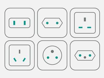 CH-, GB-, US-, CN-, BRA-, ISR-power plug - other power plug on request