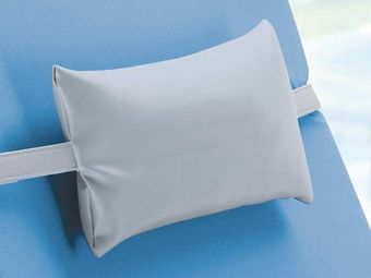 Relax pillow with PU-cover in grey