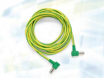"Equipotential bonding cable (absolutely necessary when using ""intracardiac procedures"")"