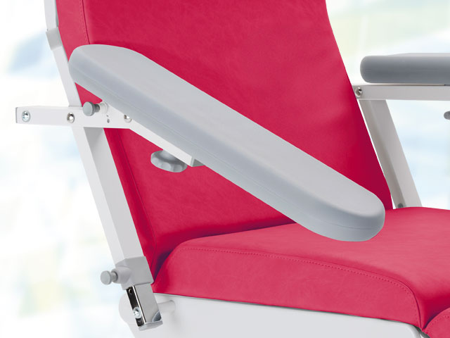 Armrests with additional tilt adjustment